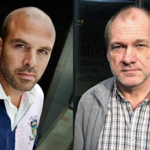 Ali Fegan och Lars-Göran Svensson