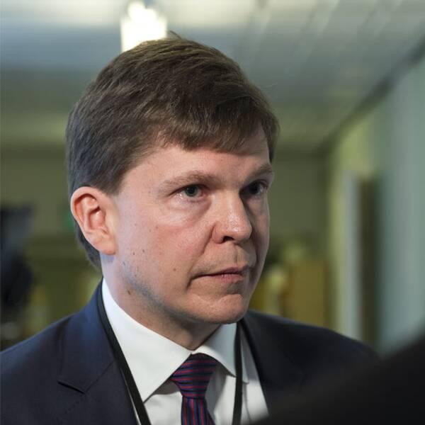 Andreas Norlén (M), ordföranden i riksdagens konstitutionsutskott.