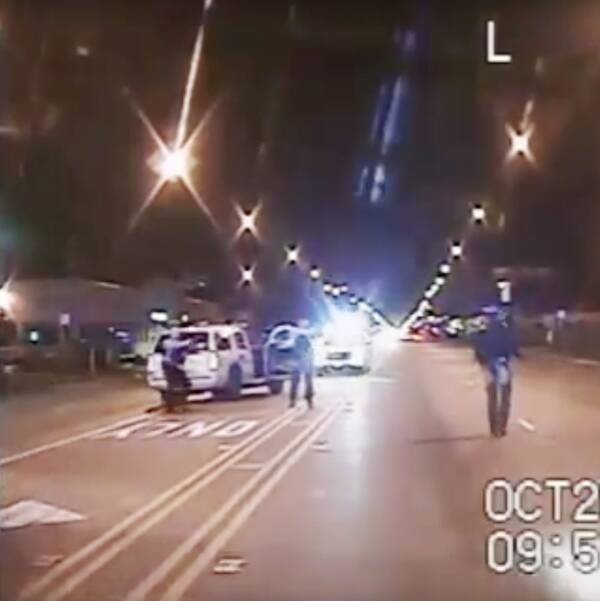 Laquan Mcdonald sköt till döds i Chicago 2014.