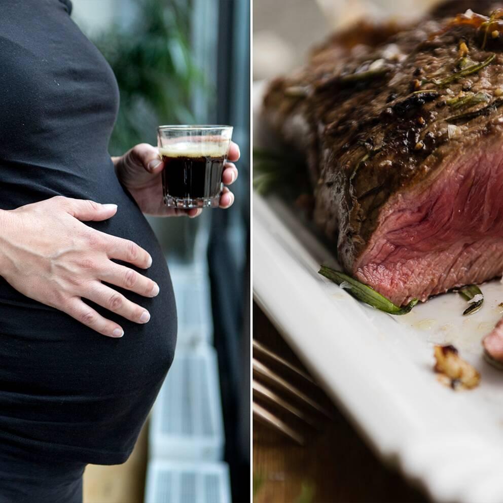 äta vilt gravid