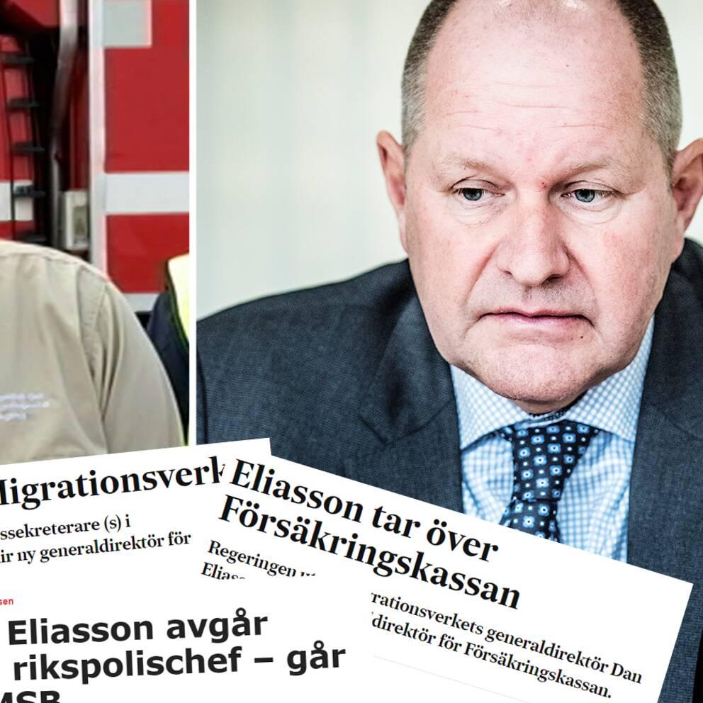 Dan Eliassons nya jobb: Blir generaldirektör på Regeringskansliet | SVT  Nyheter