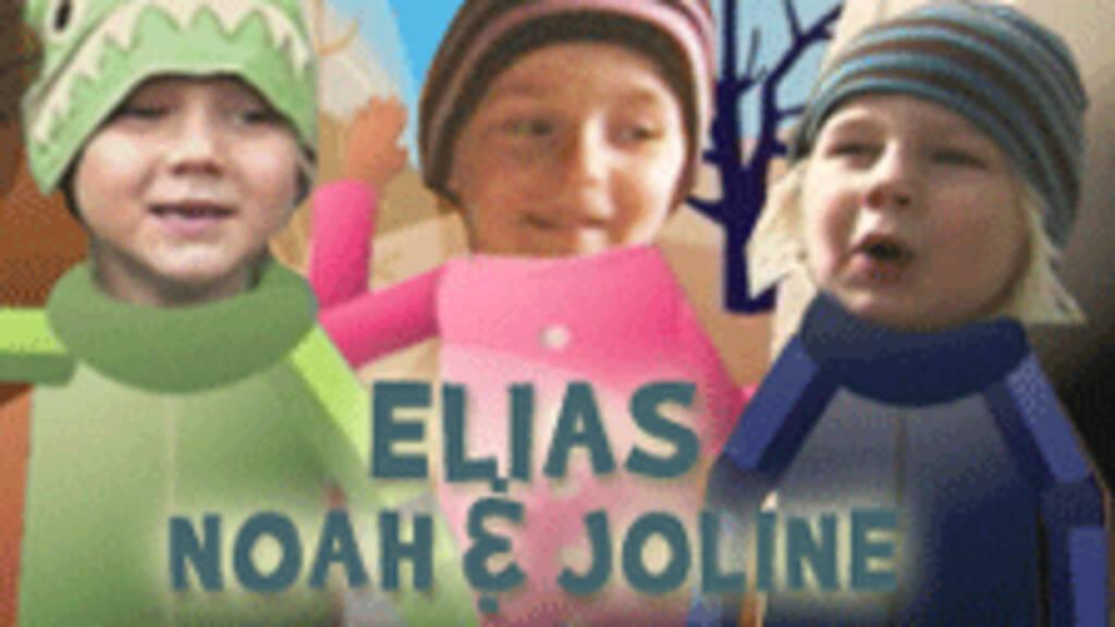Elias, Noah och Joline