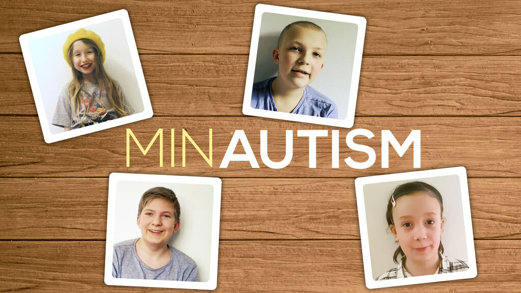 Fyra barn berättar hur det är att leva med autism.