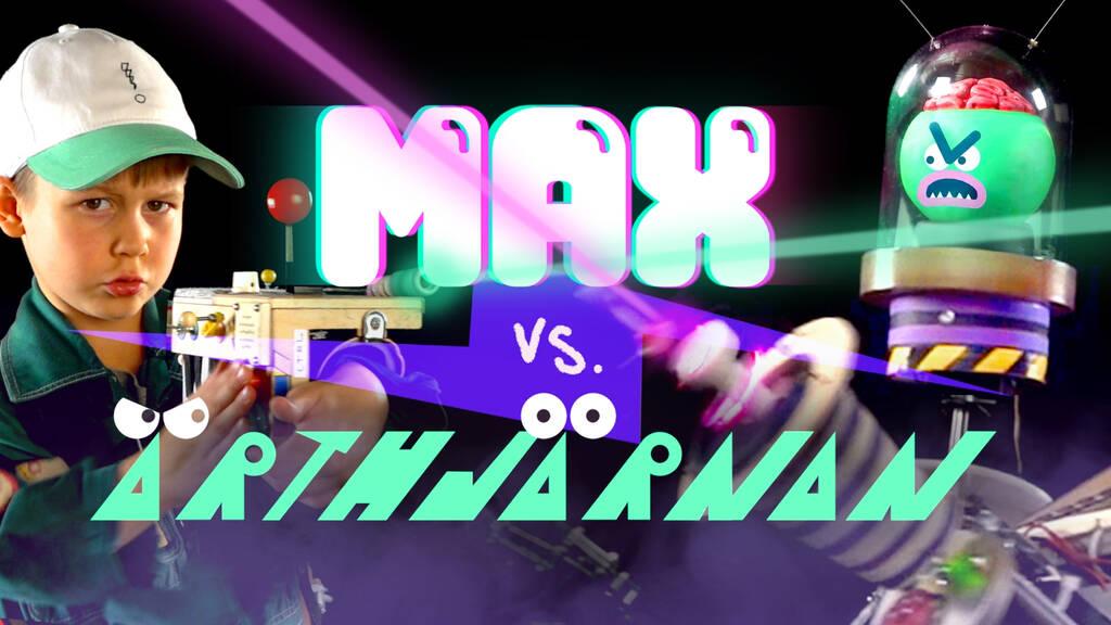 Max vs. Ärthjärnan