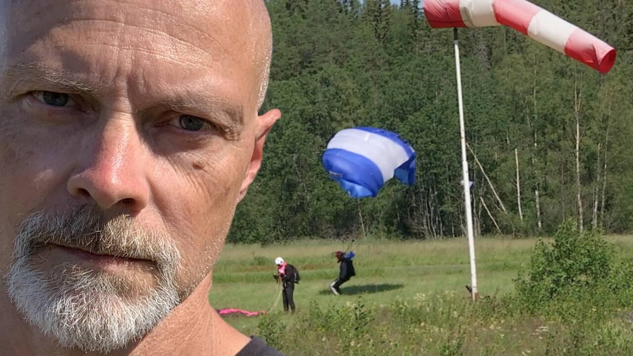 Fallskärmshoppning Sundsvall