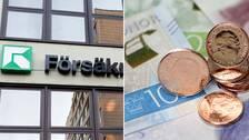exteriör försäkringskassan, mynt och sedlar