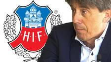 Krister Azelius, ordförande HIF