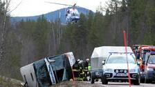 Olyckan inträffade klockan 07.00 på söndagsmorgonen.