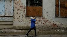 Ukrainska militarer dodade