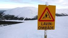 Laviner i norge barn kan ha dragits med