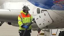 Tankning av flygbränsle.
