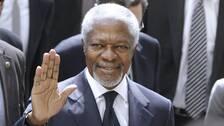 Kofi annan blir hedersdoktor