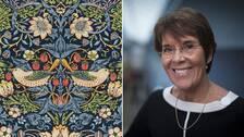 William Morris är kanske mest förknippad med sina färgglada tapetmönster.