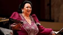 Den spanska operasångerskan Montserrat Caballé.