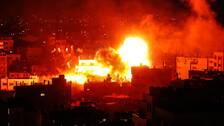 En kraftifg explosion inträffade i den byggnad på Gazaremsan där Hamas-styrda tv-kanalen al-Aqsa TV har sin redaktion