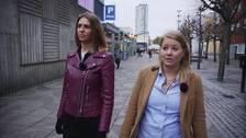 Annika Sandqvist och Pernilla Backman, socialsekreterare i Spånga-Tensta.