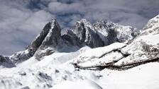Berget Yu long Xushan