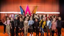 Artisterna i Melodifestivalen 2019.
