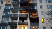 lägenhetsbrand, brand, kungsmarken