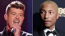 Robin Thicke och Pharrell Williams döms att betala skadestånd till Marvin Gayes Familj.