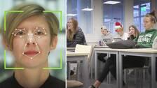 Fredrika Ling (till vänster) är designchef vid det företag som tillverkat det system för ansiktsigenkänning som använts i Skellefteå