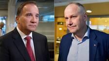 Stefan Löfven och Jonas Sjöstedt