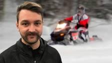 Emil Molander, skoterförsäljare i Sundsvall