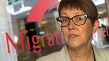 Cecilia Borgh på Migrationsverket i Kramfors betonar att asylsökande som fått avslag måste samarbeta.