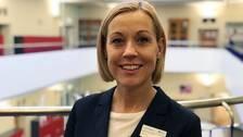 Nina Jonsson, rektor på Södermalmsskolan.