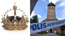 Karl IX:s krona skadades vid kuppen i Strängnäs domkyrka.