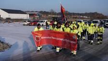 hamnstrejk, karlshamns hamn, hamnarbetarförbundet, strejk