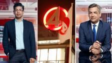 TV4:s nyhetschef Fredrick Malmberg och nyhetsankaret Anders Kraft.