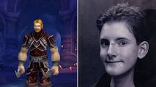 Mats i World of Warcraft som Lord Ibelin Redmoore och Mats, 15 år.