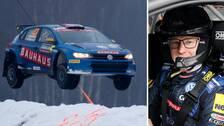 Rallycrossvärldsmästaren Johan Kristoffersson slutade trea i WRC-klassen av Svenska rallyt.