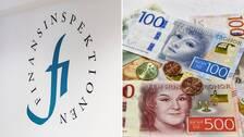 Finansinspektionen och pengar