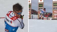 Ett knäckt stav direkt i starten krossade Calle Halfvarssons medaljdrömmar på VM.