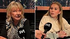 Ann-Louise Hanson och Lisa Ajax