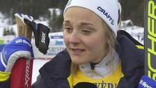Från skadan som kunde äventyrat hela VM till att ta silver i sprinten. En stund efter målgången bröt Stina Nilsson ihop i glädjetårar.