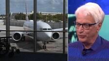 """""""Det här planet är för kraftfullt och för komplicerat för sitt eget bästa"""", säger flygplansjournalisten Jan Ohlsson i Aktuellt."""