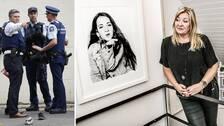 Ebba Åkerlunds mamma, Jeanette, berättar för SVT Nyheter om känslorna kring att hennes dotter används i syfte för att sprida den utpekade Christchurch-terroristens budskap