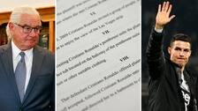 Advokaten Leslie Mark Stovall anklagar Juventusstjärnan för att hålla sig undan delgivning för en stämning om våldtäkt.