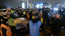 Frivilligorganisationen FIKK, frivilliga insatser vid kris och katastrof inledde en sökinsats under torsdagskvällen.