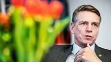 Per Bolund (MP), finansmarknads- och bostadsminister.