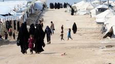 Uppsamlingslägret al-Hol dit IS-medlemmars kvinnor och barn förs.