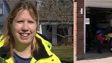 – Gratisloppis tror vi är ett roligt och enkelt sätt för återbruk, säger Theres Stark, som är renhållningschef i Söderköping.