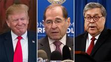 Trump, Nadler, Barr