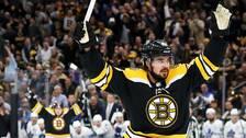 Marcus Johansson låg bakom Bostons seger i natt.