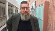 Simon Matti, professor vid universitet i Luleå.