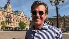 En nöjd Anders Tjacka på Torget där två-dagars festivalen kommer att äga rum.