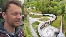 """""""Det här är enda chansen på OS för oss"""", säger lettländaren Tomass Dukurs. SVT Sport besökte kälkanläggningen i Sigulda som är stödjebenet i den svenska OS-ansökan som avgörs den 24 juni."""